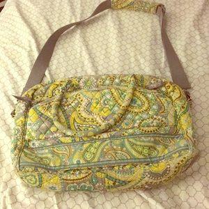 Like New Vera Bradley lap top messenger bag 💼